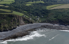 Millook on the north coast of Cornwall - aerial image (John D F) Tags: millook cornwall coast coastline aerial aerialphotography aerialimage aerialphotograph aerialimagesuk aerialview poundstock
