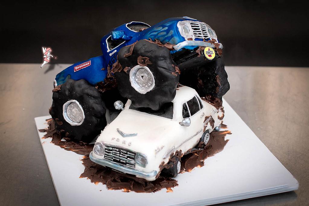Bigfoot Monster Truck Cake