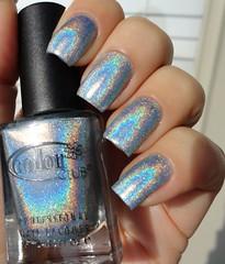 Color Club - Blue Heaven (Halo Hues collection) (giu_a_b) Tags: colorclub holographicnailpolish halohues