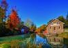 morningstar mill / decew falls (Rex Montalban Photography) Tags: autumn colours hss decew morningstarmill rexmontalbanphotography sliderssunday