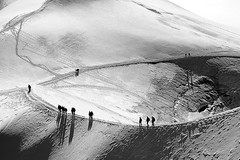 la valle blanche (ppichard) Tags: alpes midi blanche chamonix mont blanc massif valle aiguille