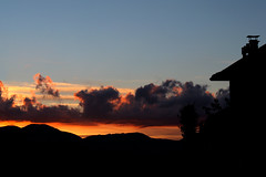 october 14, sunday sunset (ria) Tags: city blue sunset red sky orange cloud clouds canon skyscape landscape october tramonto nuvole nuvola blu sunday cielo aeria rosso paesaggio arancione citt domenica skyfire ottobre rieti ria