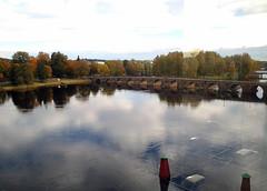 submarine parking (anna_t) Tags: karlstad illusion bro vatten fönster synvilla spegel parkeringsplats