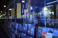 Books (Guido [Torino, ITA]) Tags: street windows 35mm torino nikon books libri piemonte reflexions turin riflessi d7000