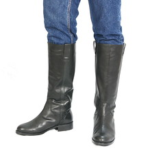 Runnerbull_boots_mod_Ranchero_worn_front (runnerbull) Tags: man men leather boots uomo bottes botas madeinitaly herren stiefel stivali runnerbull