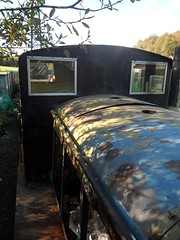 May - cab front stripped (DerekTP) Tags: diesel may railway loco swanage fowler 4210132