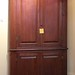 113. Southern Blind Door Corner Cupboard