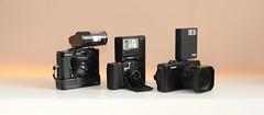 The pocketables (ilkkajii) Tags: camera cosina sigma cameras gt pocket minox cosinacx2 minox35 sigmadp sigmadp1x dp1x