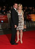 Grant Bovey and Anthea Turner 56th BFI London Film Festival - 'The Rolling Stones: Crossfire Hurricane' - Gala Screening - Arrivals London, England