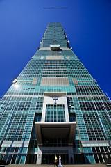 Taipei 101 (WuJS) Tags: building taiwan 101 taipei taipei101  1740mm cpl  5d2