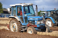 Ford 6610 Tractor & Kverneland 2 Furrow Plough