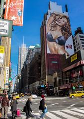 A fine day! (Malaya K Pradhan) Tags: street sunlight newyork canon streetphotography hoarding lightshadow lightandshadow malaya hoardings canon500d newyorkstreets herowinner pregamewinner malayapradhan malayakpradhan