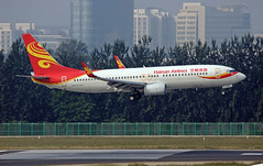 Hainan Airlines Boeing 737-86N(WL) B-5428 (rickihuang) Tags: china plane airport aircraft aviation capital group beijing international civil  boeing  airlines hainan hu  airliner 737 wl   pek     zbaa  hna chh        36l    86n b5428
