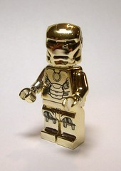 """Round"" Ironman  :) (minifigures.pl) Tags: man gold iron lego ironman tony chrome custom marvel stark avengers c3po legosuperhero"