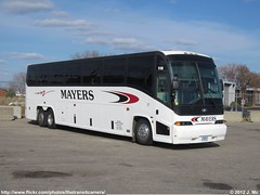 Mayers Charter Service 115 (TheTransitCamera) Tags: bus coach service charter mci mayers e4500