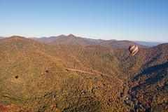 Asheville Hot Air Balloons 2 (Photomatt28) Tags: travel shadow fallcolors northcarolina blueridgeparkway ashevillehotairballons