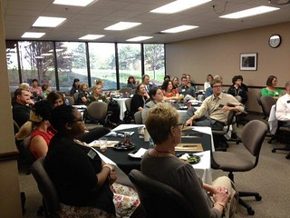High School Counselors, Emporia State Faculty, Staff and Alumni at the first Counselor Lunch and Learn on October 24, 2012!