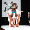 Yoake San The Chocolate Dress Fashion Show celebrating the 'Salon du Chocolat 2012' Opening Night at the Parc des Expositions Paris, France