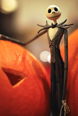 Happy Halloween! (MMortAH) Tags: autumn fall halloween pumpkin jack toy toys 50mm nikon bokeh 14 disney nikkor afs skellington neca d60 thenightmarebeforechristmas nbx