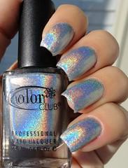 Color Club - Harp On It (Halo Hues collection) (giu_a_b) Tags: colorclub holographicnailpolish halohues