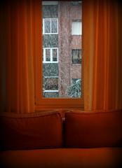 "Home is always a ""Wonderland"" :) (nilgun erzik) Tags: turkey türkiye turkiye istanbul turquie kar apartman sarı turkishpeople turkei pencere nilgunerzik fotografkıraathanesi fotografkiraathanesi turkishphotographers nilgünerzik kiş pencereonu fotografca"