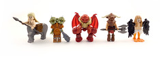 Monsters of Myth and Legend (Hammerstein NWC) Tags: monster greek lego mini greece demon minifig custom legend mythology myth daemon harpy harpies minotaur centaur rx100 beyondthepale brickwarriors dscrx100