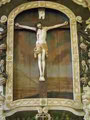 Crucifixion by Master Paul of Levoča, 1510-1520 (DeBeer) Tags: sculpture art statue religious carved catholic christ cross corpuschristi sacral jesus gothic carving medieval christian sacred slovakia crucifixion woodcarving woodenstatue woodensculpture 16thcentury crucified 1520 1510 levoca polychromy lategothic spis levoča 1510s gothicart medievalsculpture spiš masterpaul corpusdomini polychromed latemedieval gothicsculpture krucyfiks northernrenaissance lomnicka 16thcenturyart christoncross gothicstatue early16thcentury lategothicart lomnička medievalstatue pauloflevoca slovakart masterpauloflevoča lategothicsculpture lategothicstatue slovaksculpture 16thcenturysculpture 16thcenturystatue masterpauloflevoca pauloflevoča