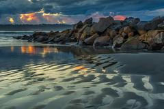 Beach Reflections (mojo2u) Tags: sunset beach sandiego coronado hoteldelcoronado coronadobeach nikond800 nikon28300mm