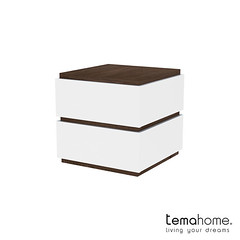 Slot 003 - Pure White - Walnut (TemaHome - Living Your Dreams) Tags: bedroom storage dresser sloat tema nighttable purewhite nighttables temahome nadiasoares