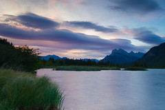 Vermilion Lake Sunrise (Linda JP) Tags: canada alberta banff canadianrockies vermilionlakes