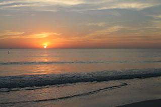 COQUINA BEACH SUNSET 12-31-12