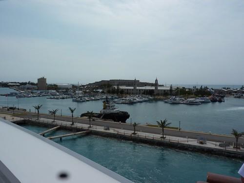 Leaving Kings Wharf, Bermuda