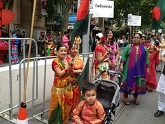 jan13 1137 (raqib) Tags: mobile costume cosmopolitan culture diversity australia melbourne multicultural australiaday saree rc bangladesh swanston iphone bangladeshi swanstonstreet ozday peoplesmarch australiabangladesh bangladeshaustralia paoplesparade