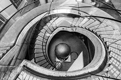 ESCHER LIKE (Rober1000x) Tags: sanfrancisco california architecture stairs arquitectura stair financialdistrict embarcadero 2013 embarcaderotowers