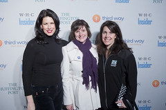 Melissa Fitzgerald, Sandra Fluke, and Shelly C...