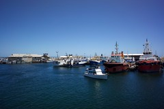 Fishing Boats (Stueyman) Tags: summer water boats fishing sony australia wa 28 16mm westernaustralia nex 2013 nex7