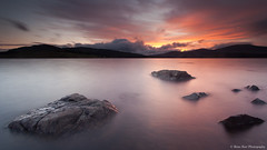 Clatteringshaws Loch (.Brian Kerr Photography.) Tags: sunset colour reflections scotland rocks loch dumfriesgalloway dumfriesandgalloway newgalloway gallowayforest clatteringshawsloch briankerrphotography