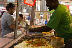 Summer Street Fare Standard (maisa_nyc) Tags: nyc newyork broadway sausage streetfair