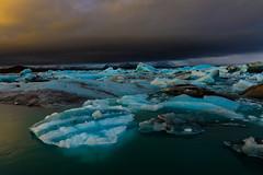 Stormy (Marshall Ward) Tags: ice landscape iceland europe icebergs jkulsrln stormyskies 2015 stormapproaching nikond800 afszoomnikkor2470mmf28ged marshallward