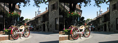 Yvoire, French Alps (3D shoot) Tags: 3dshoot stereo stereoscope stereophoto parallel 3d france yvoire