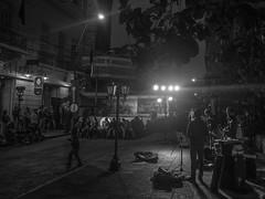 Jazz a la calle (oteiza86) Tags: jazz street calle asuncion palma noche domingos