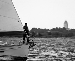 Branwyn at Helsinki-Tallinna Race (Antti Tassberg) Tags: 2016 bw blackandwhite bokeh branwyn helsinki htr meri monochrome purjehdus purjevene race regatta sailing sailingboat sea tallinna yacht