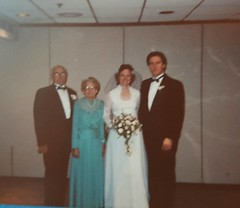 A wedding day (tomylees) Tags: wedding usa frances steve vinnie george june 1988