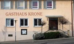 IMG_6685 Gasthaus Krone, Winterbach, Baden Wurttemberg (EJK41) Tags: winterbach gasthaus krone germany deutschland wurtemberg wuerttemberg
