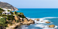 Cabo Negro - Maroc (Bouhsina Photography) Tags: mer panorama cabo negro ttouan maroc plage beach sea rocher eau water long exposition bouhsina bouhsinaphotogrphy canon 7dii ef2470 mditerrane t 2016 wow