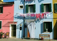 Burano, ancora... (manu/manuela) Tags: italy venice burano buccato clotheslines lavare washing housechores