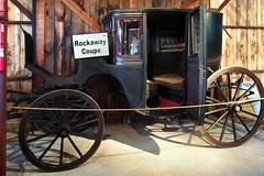 1885 Rockaway Coupe (SteveMather) Tags: 1885 1800s rockaway coupe wgcrishamco minneapolis minnesota stpaul horse drawn 2016 mahoning canfield fair youngstown fairgrounds oh ohio pulled county westernreservevillage