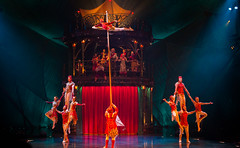 _MG_0636.jpg (Tibor Kovacs) Tags: colours smoke stars acrobats sydney lights cirquedusoleil circus performances bigtop kooza performers clowns strength australia stage contortionists