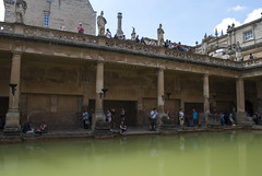 The Roman Baths, Bath, United Kingdom (Tiphaine Rolland) Tags: bath unitedkingdom royaumeuni angleterre england grandebretagne gb uk greatbritain 2016 theromanbaths bains baths romain roman thermes thermae eau water