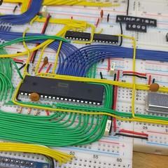 BASIC works! (limpfish) Tags: 6502 8bit basic homecomputer breadboard electronics